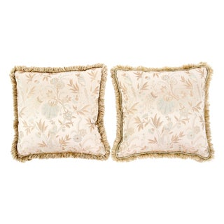 Gold Stroheim Romann Custom Pillows - Pair
