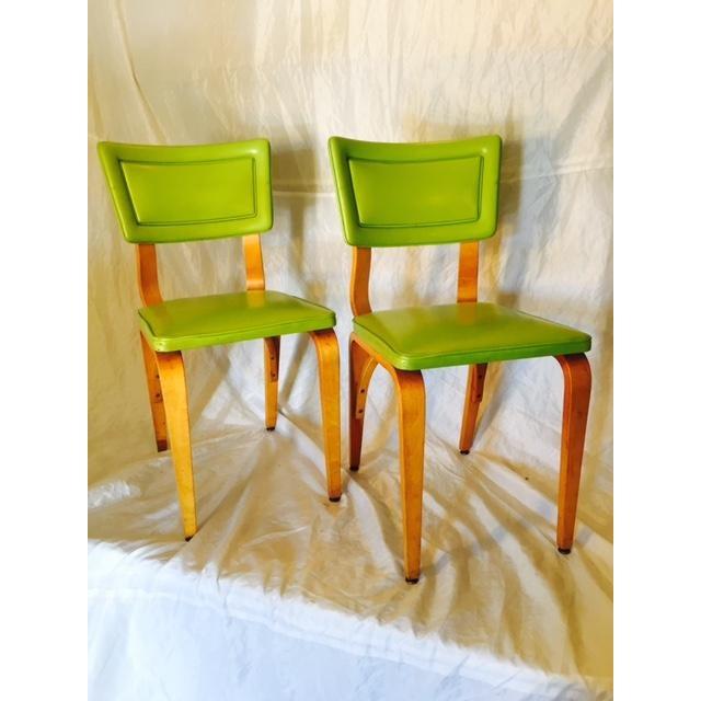 Image of Vintage Mid-Century Original Thonet Chairs