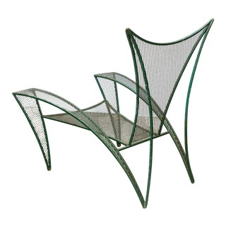 Monumental Sculptural Garden Chair