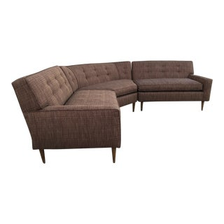 Mid-Century Modern 3-Piece Sectional Sofa