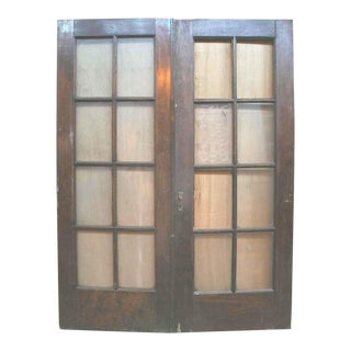 Birch French Style Double Doors - A Pair