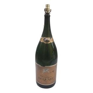 Jacquart Champagne Bottle Lamp