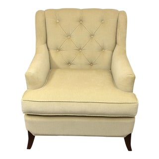 Custom Medley Arm Chair in Barbara Barry Fabric