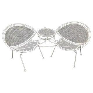 Salterini Tete-a-Tete Chair & Table Set