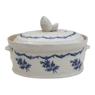 Antique FrenchBlue & White Tureen
