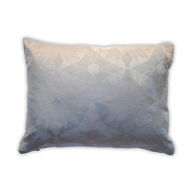 Image of Gray Sahara Embroidery Pillow