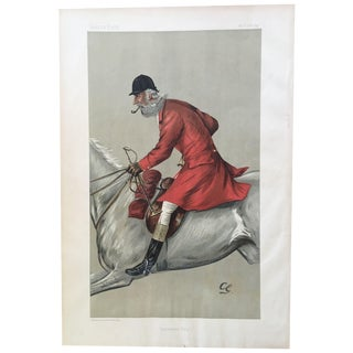 1897 Original Vanity Fair Blackmore Vale Fox Hunter Print