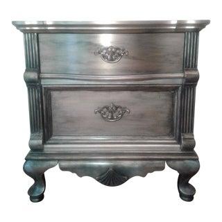 Victorian Lexington Silver Oak Night / End Table