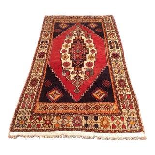Vintage Anatolian Rug - 3′11″ X 6′10″
