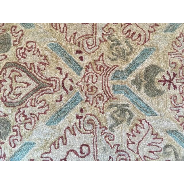 Custom Wool Tufted Rug -- 15′ × 16′ - Image 4 of 5