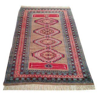 4' X 6' Bokhara Hand Made Rug - Size Cat. 4x6