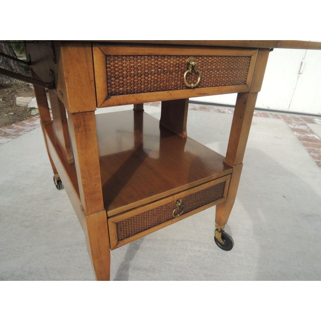 Image of Mid-Century Modern Bar Cart