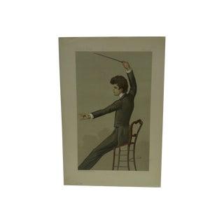 "Vintage ""Cavalleria Rusticana"" Vanity Fair Print"