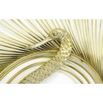 Image of Curtis Jere Large Swan Wall Sculpture