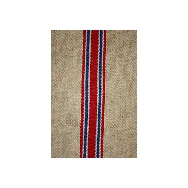 Vintage Striped European Grainsack - Image 3 of 3