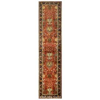Vintage Persian Tabriz Rug - 3′1″ × 13′9″
