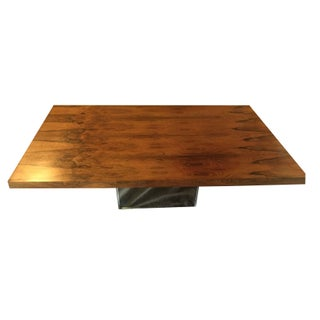 Milo Baughman Mid-Century Rosewood Coffee Table