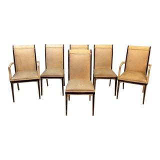 Enrique E. Garcel Columbian Goatskin Chairs - Set of 6