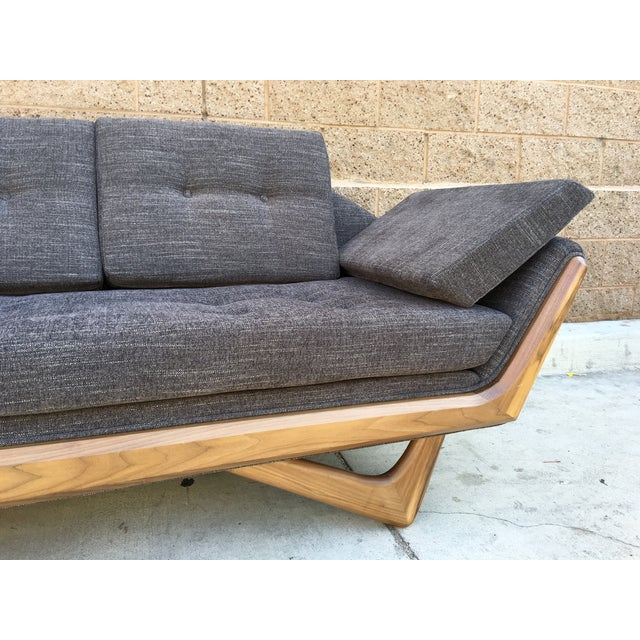 Image of Mid-Century-Style Sculptural James Sofa