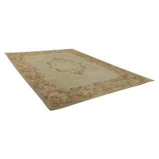 French Aubusson Needlepoint Rug - 10′8″ × 13′9″