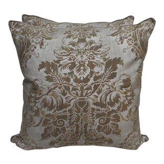 Dandolo Patterned Fortuny Pillows, Pair
