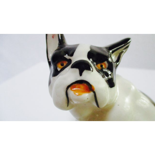 Image of Vintage Ceramic French Bulldog