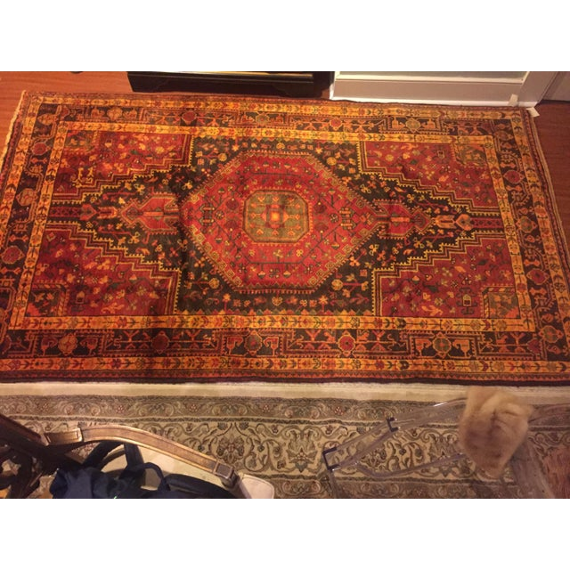 Hand Knotted Persian Rug - 4′8″ × 8′ - Image 6 of 7