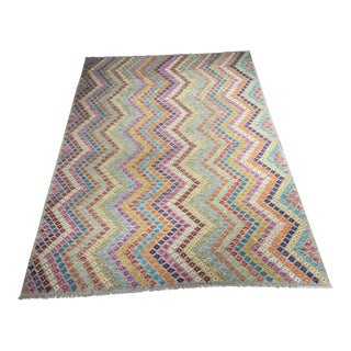 "Bellwether Rugs Imported Colorful Kilim - 7'3"" x 9'11"""