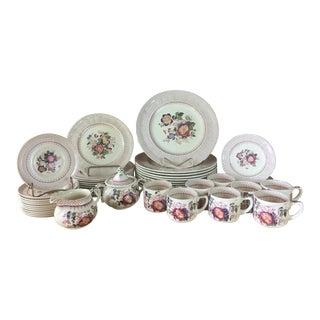 1940s Mason's Ironstone Paynsley Pattern Dinnerware- 51 Pieces