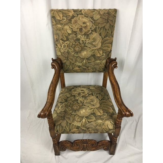 Spanish Arm Chair - Image 2 of 11