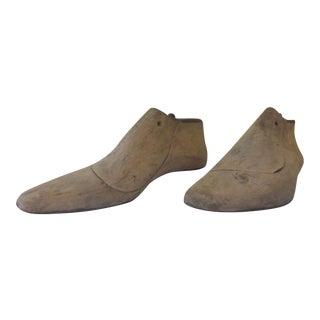 Vintage Shoe Molds - Pair
