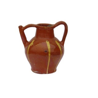 Antique French Provencal Terra Cotta Jug