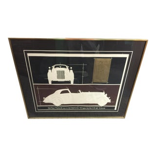 Roy Willams Rolls Royce Serigraph
