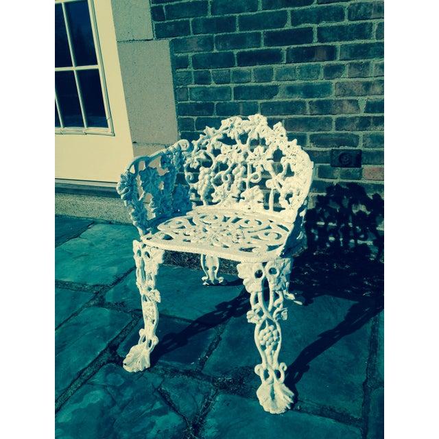 Antique Cast Iron Garden Bench - Image 7 of 11