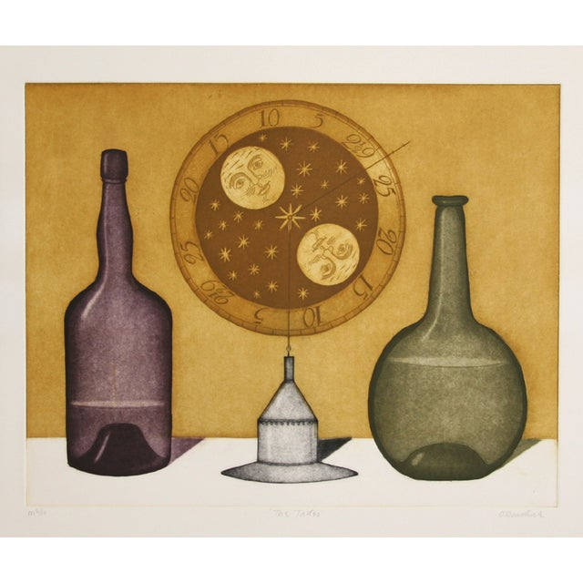"""Tighe O'Donoghue, """"Tides - Suite 2,"""" Etching - Image 1 of 2"""