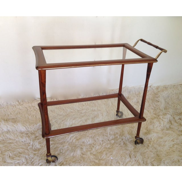 Ico Parisi Mid Century Bar Cart - Image 2 of 9