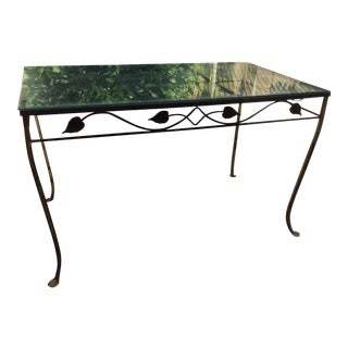 Outdoor Woodard Garden Table