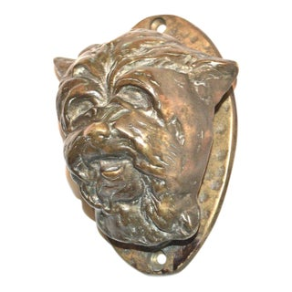 Cairn Terrier Door Knocker