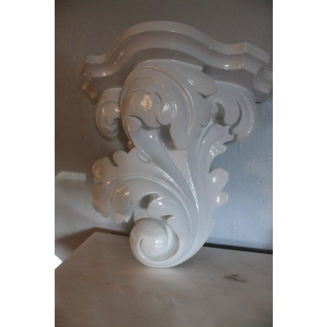 Image of Serge Roche Vintage Plaster Wall Bracket
