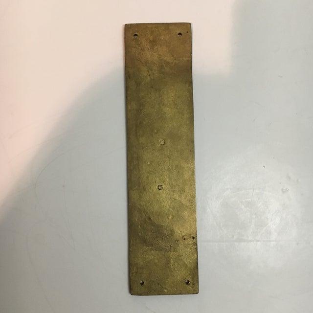 Vintage Door Push Plate - Image 8 of 8 - Vintage Door Push Plate Chairish