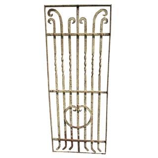 Antique Victorian Iron Gate Salvage Door
