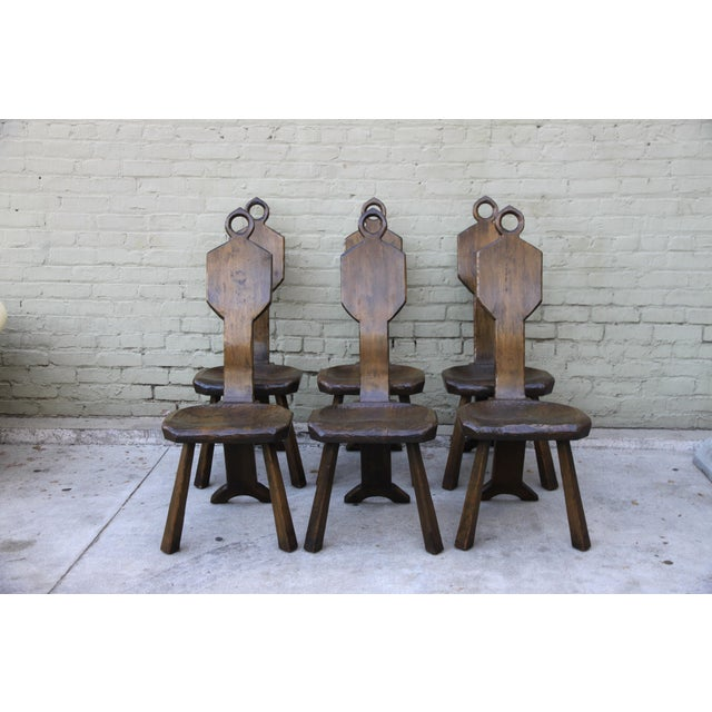 Image of John Barbor Dining Chairs - Set of 6