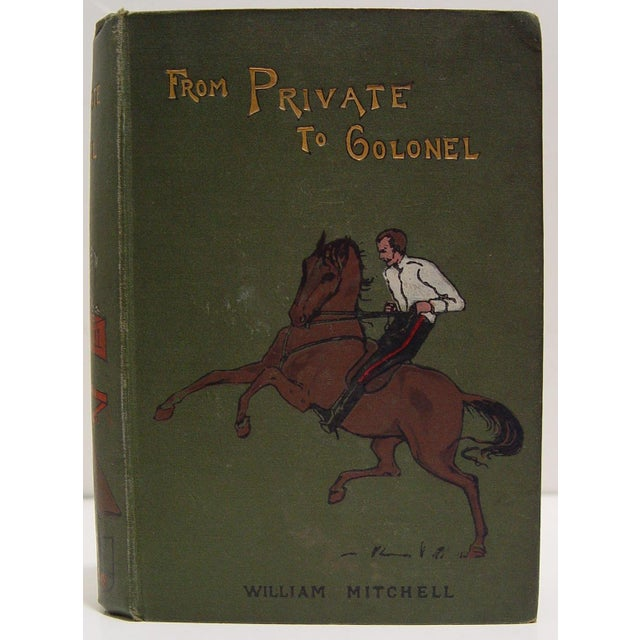 Antique 1900 'From Private to Colonel' Book - Image 2 of 5
