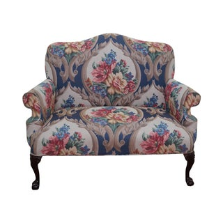 Chippendale Claw Foot Loveseat