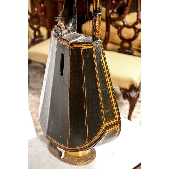 19th Century Edward Light Harp Lute - Image 6 of 7