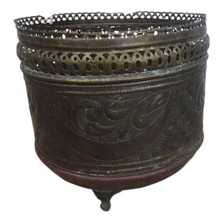 Oriental Copper Brass Vase Pot