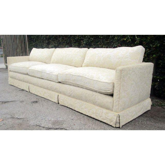 Image of Vintage Embroidered Sofa