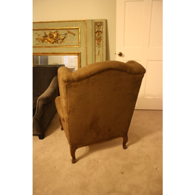 French Style Wingback Chair - Image 4 of 5