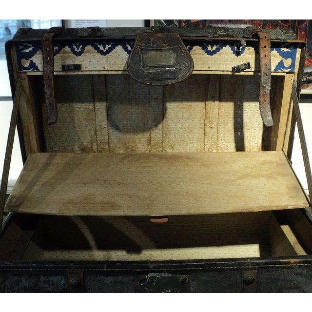 Antique Storage Trunk - Image 11 of 11
