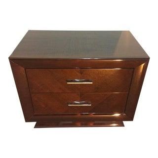 Excelsior Designs Italian High Gloss Veneered Nightstand